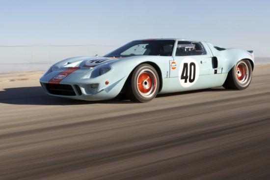 福特 GT40 Gulf/Mirage